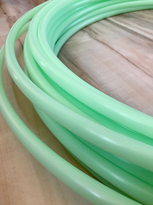 UV Mint Green Colored Polypro Hoop
