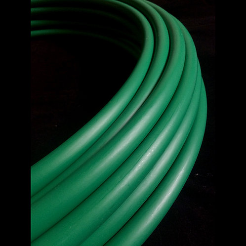 "3/4"" School Green Colored HDPE Hoop"