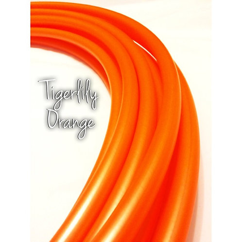 "READY TO SHIP: 19"" 5/8"" Tigerlily Orange Polypro Hoop"