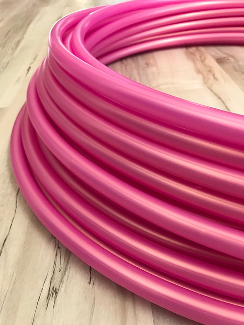 Rose Gold Colored Polypro Hoop