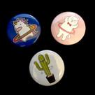 Hoop Buttons