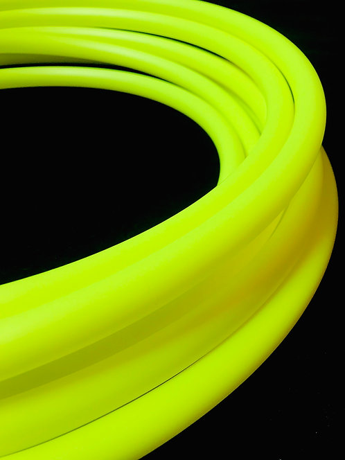 UV Yellow Colored HDPE Hoop