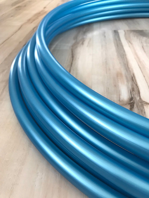 """5/8"""" Tahitian Blue Colored Polypro Hoop"""