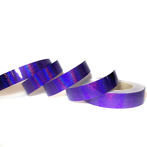Purple Orchid Sequin Taped Hoop