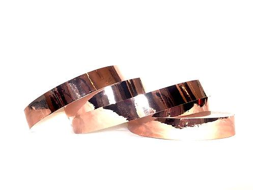 Copper Mirror Taped Hoop