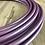 """Thumbnail: 5/8"""" Violet Satin Gloss Polypro Hoop"""