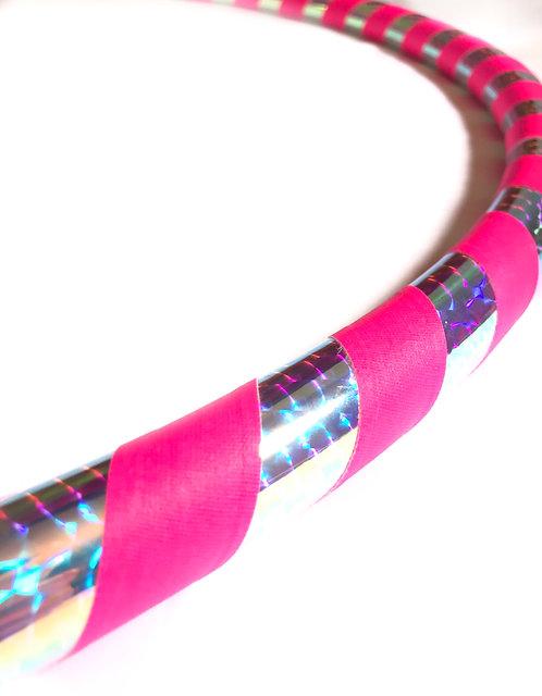'Cosmic Pink' Beginner/Fitness Hoop