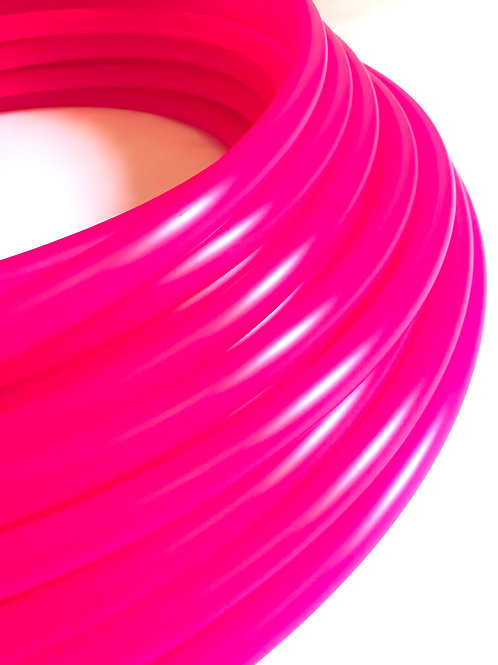 "READY TO SHIP: 21"" 5/8"" Magenta Polypro Hoop"