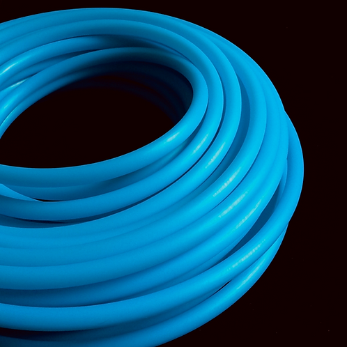 UV Blue Agate Colored HDPE Hoop
