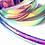 Thumbnail: Moonbeam Color Shifting Taped Hoop