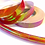 Thumbnail: Fire Red Opalescent Taped Hoop