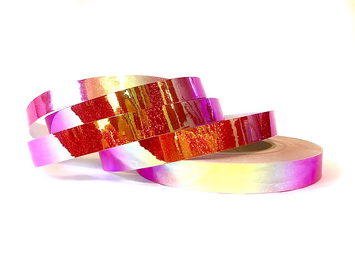 Helios Color Shifting Sequin Taped Hoop