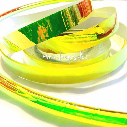 UV Firefly Color Shifting Taped Hoop