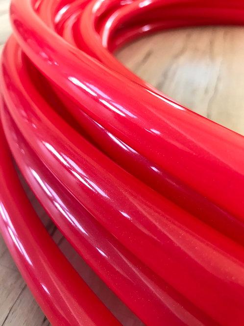 Red Stardust (Glitter) Polypro Hoop