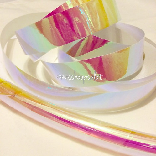 Pink Sunset Color Shifting Taped Hoop