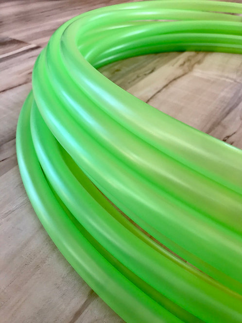 Translucent Green Colored Polypro Hoop
