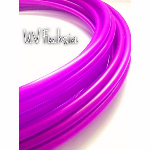 "READY TO SHIP: 24"" 11/16"" UV Fuchsia Polypro Hoop"