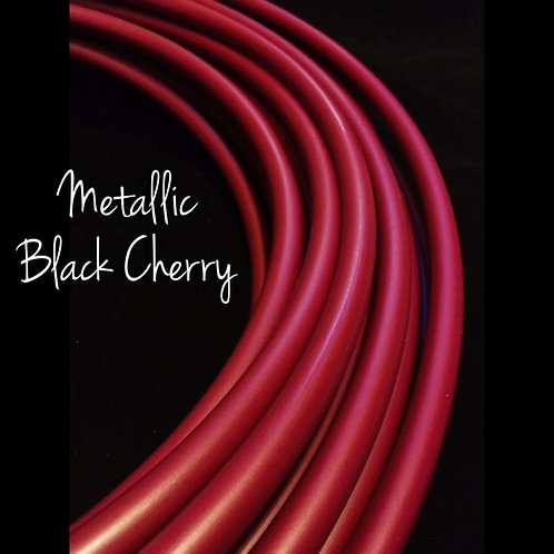 "READY TO SHIP: 17"" 5/8"" Black Cherry HDPE Hoop"