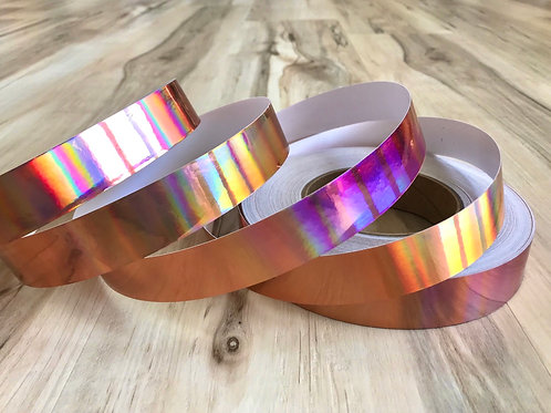 Copper Rainbow Taped Hoop