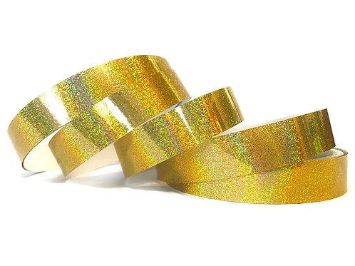 Metallic Gold Sequin Taped Hoop