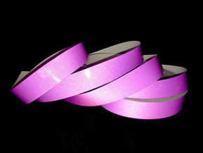 Violet Reflective Taped Hoop