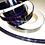Thumbnail: Black Rainbow Taped Hoop