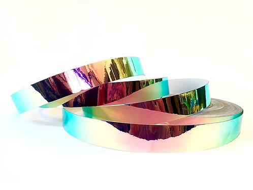 Pink Iridium Color Shifting Taped Hoop