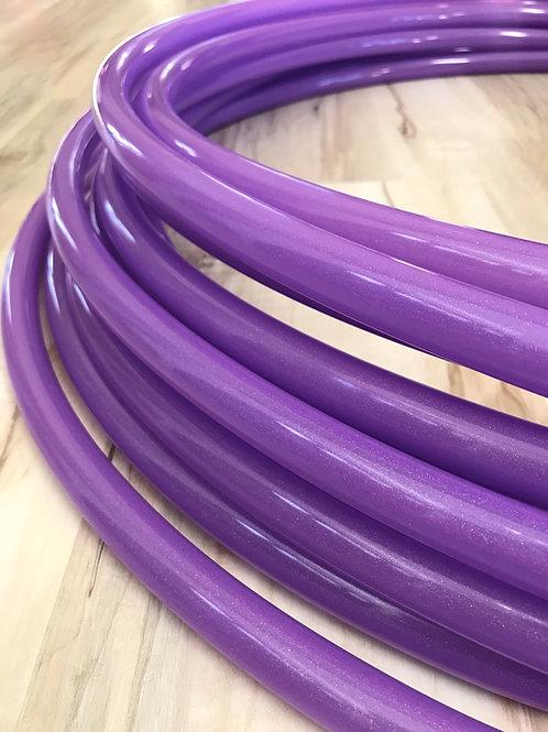 Purple Stardust Glitter Infused Polypro Hoop