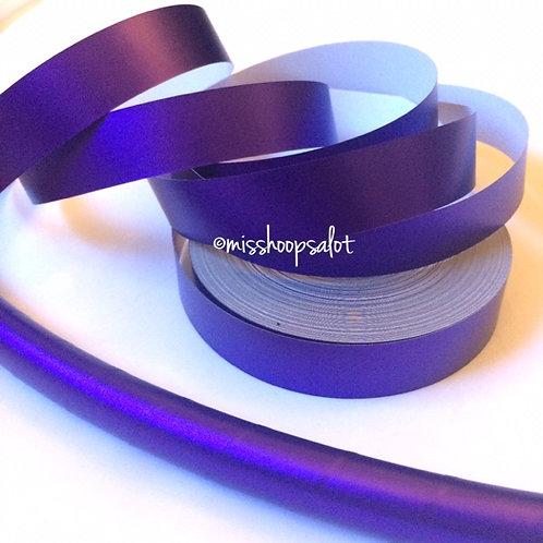 Royal Purple Satin Luster Taped Hoop