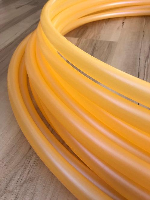 "3/4"" Orange Iridium Colored Polypro Hoop"