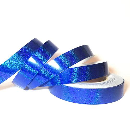 Cobalt Blue Sequin Taped Hoop
