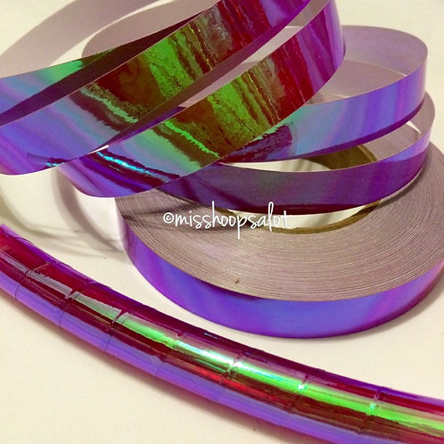 Rubellite Color Shifting Taped Hoop