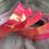 Thumbnail: Pink Guava Color Shifting Taped Hoop