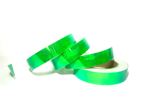 Key Lime Green Color Shifting Taped Hoop