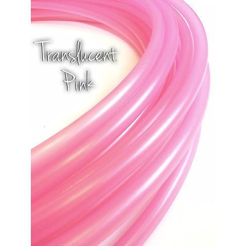 """5/8"""" Translucent Pink Colored Polypro Hoop"""