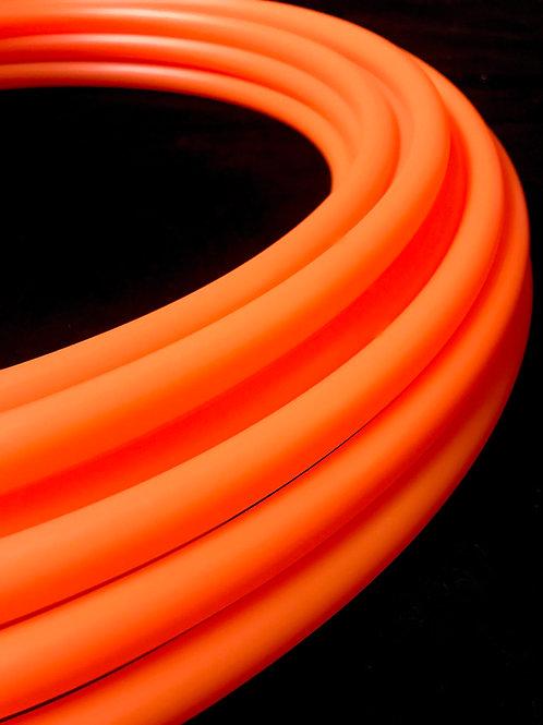 UV Orange Fluorite Colored HDPE Hoop