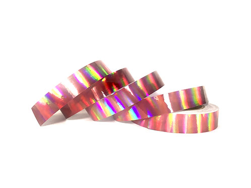 Dusty Rose Rainbow Taped Hoop