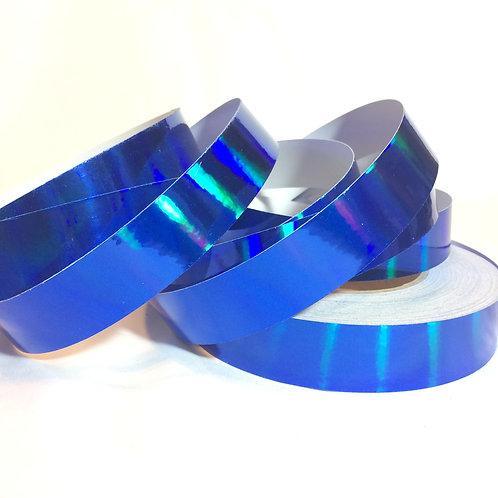 Royal Blue Rainbow Taped Hoop