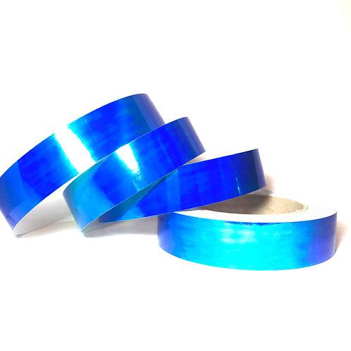 Aquatic Blue Color Shifting Taped Hoop