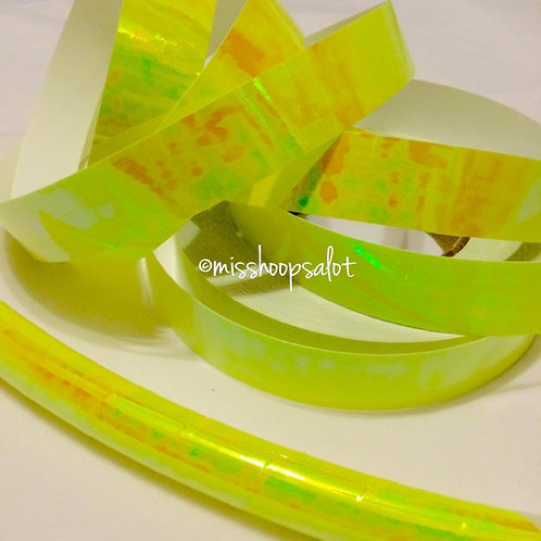 Pineapple Glaze Color Shifting Taped Hoop