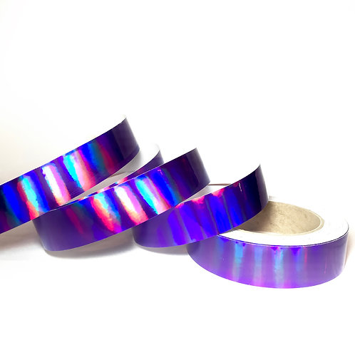 Purple Rainbow Plasma Taped Hoop