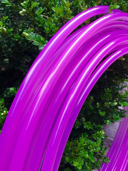 Sun Shifting Magenta Glossy Polypro Hoop