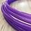 Thumbnail: UV Amethyst Purple Fusion Gloss Polypro Hoop