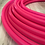 Thumbnail: UV Pink Sapphire Colored Polypro Hoop