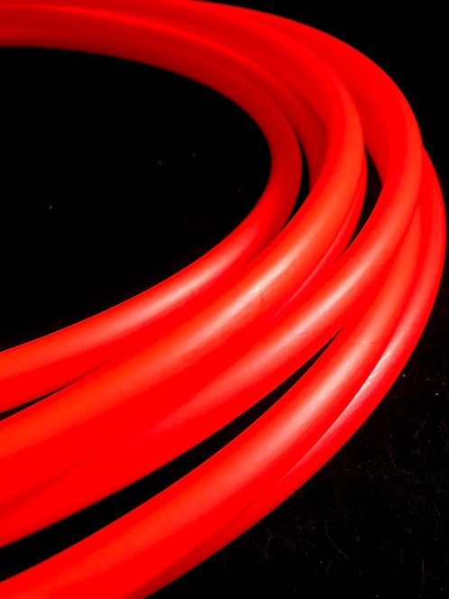 Radioactive Red Colored HDPE Hoop
