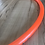Thumbnail: UV Tigerlily Orange Colored Polypro Hoop