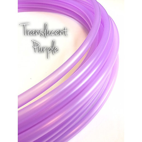 "READY TO SHIP: 16"" 5/8"" Translucent Purple Polypro Hoop"