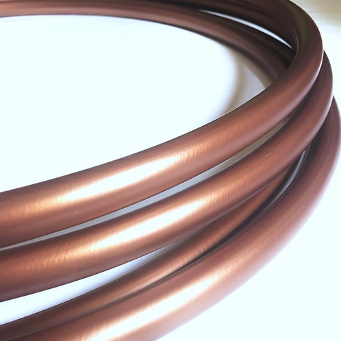 "READY TO SHIP: 35"" 11/16"" Metallic Copper Polypro Hoop"