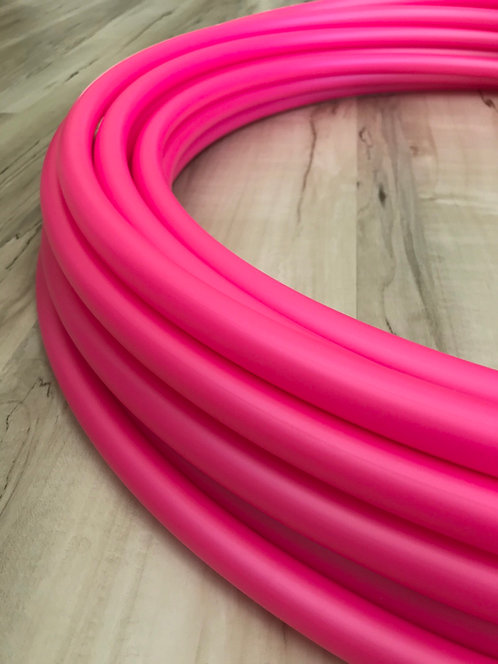 Valentina Pink Colored Polypro Hoop
