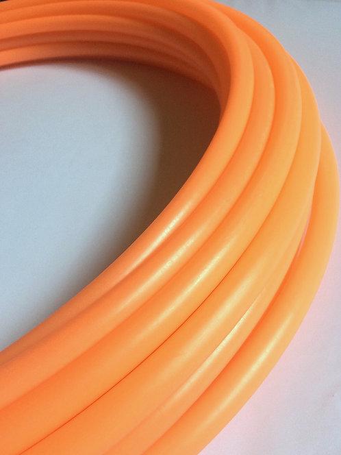 "3/4"" Salmon Orange Glow in the Dark Polypro Hoop"